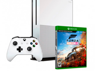 Microsoft Xbox One S  1 ТB + Forza Horizon 4/ Белый