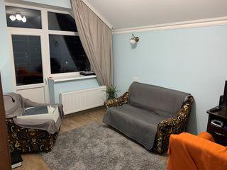 Ciocana, apartament cu 2 odai in bloc nou. 45mp