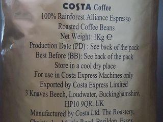 COSTA Coffee в зернах. вкусный, ароматный