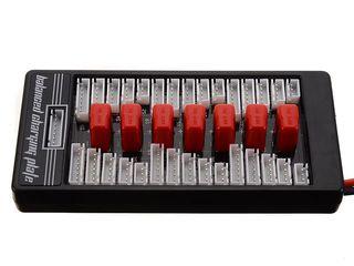 Параллельная Т-образная плата адаптера зарядного баланса для Lipo LiFe Li-Ion от IMAX B6