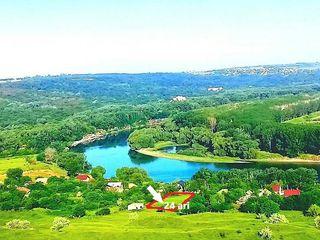 Teren 24 ari pe malul Nistrului , 25 km de Chisinău (scump)