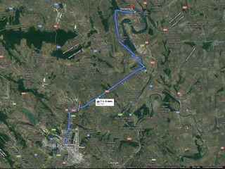 Nistru,Oxentea,teren,2 loturi,13ari(7+6) pentru constructii cu iesire directa la apa= 58.5m(35+23.5)