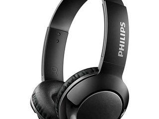 Беспроводные накладные наушники Philips SHB3075 Bass Bluetooth.Căști fără fir Bluetooth Philips
