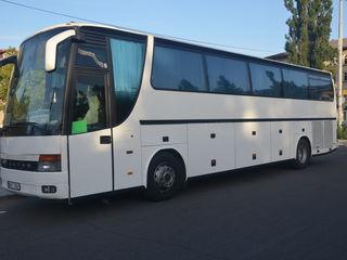 Masini de capacitati diferite pentru transportul de pasageri la comanda in directii nationale.