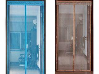 Сетка на магнитах для дверей - 125лей (черная, коричневая, голубая) доставка по всей Молдове