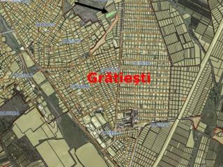 teren 23 ari pentru constructii  gratiesti