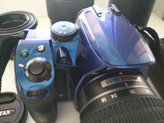 Pentax k30 kit ( schimb pe lentile canon EF )