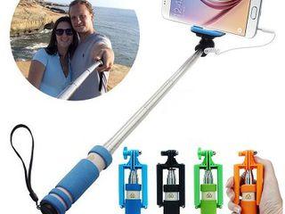 Палка для селфи проводной монопод selfie stick mini!