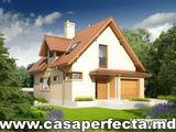 Casa din cotelet 140 m2 cu arhitectura clasica termoizolata eficient !!!