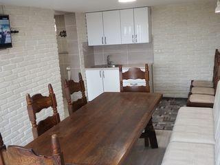 Vila in Dumbrava cu 2 odai,foisor si sauna noua pe lemne in chirie pe zi/ore.