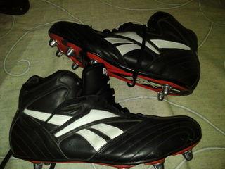 Футбольные Буцы- reebok-новые 100%кожа