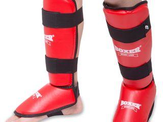 Защита для голени и стопы кожвинил BOXER // Aparatori picioare // Tibiere Boxer (k-1,mma,kickboxing)