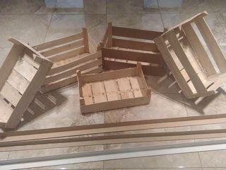 Ящики/ Lăzi din lemn