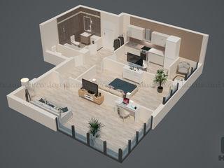 Apartament 2 odăi de  63,95 m2, sectorul riscani, achitarea în rate!  fără intermediari!