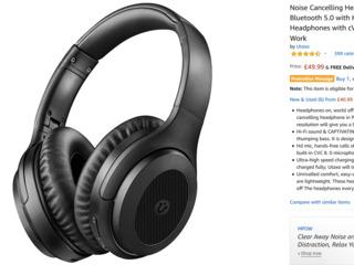 Headphones Casti Bluetooth Fara Fir Наушники беспроводные