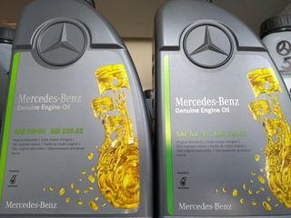 Ulei sintetik--Mercedes - 5W30 ,Long Life, mb 229.52 / 229.51 / 229.31 la super pret 190 lei/ 1L.!!!