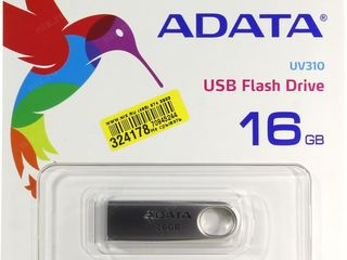 Флешка 16GB Adata UV310 silver USB3.0