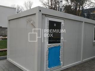 Construcții modulare metalice prefabricate.