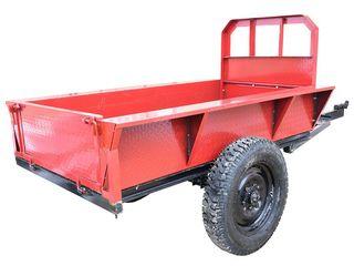 Прицеп для мотоблока 2 красный/ с бесплатной доставкой на дом/ Garantie/ Livrare/7400 lei