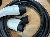 Type 2 на Type 1, 32A кабель 5м адаптер переходник удленитель ...