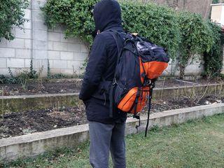 Походный оригинальный туристический рюкзак giorgio kompass explorer 60-100 L