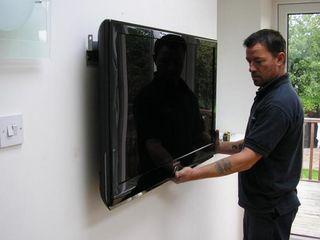 Установка телевизоров на стену. TV LCD, LED, плазменные. Кронштейны ТВ. Мастер.