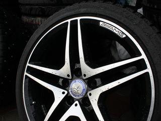 Новый AMG комплект дисков + новые шины 245/40r18 Yokohama