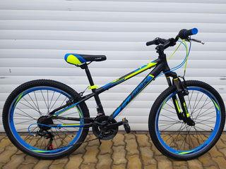 Новый алюминиевый подростковый велосипед