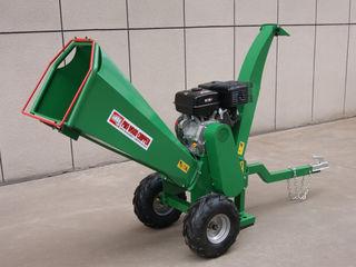 Tocatoare crengi Wood Chipper 7 hp, 15 hp motor benzina. Magazin Flexmag.md