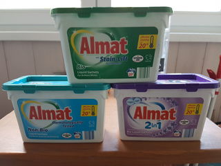 Almat, detergent in capsule, Belgia.capsule, Belgia.