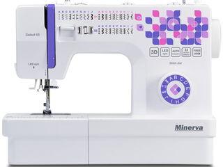 Швейная машина Minerva Select 65 (Гарантия 3 года, доставка по Молдове, Кредит!)