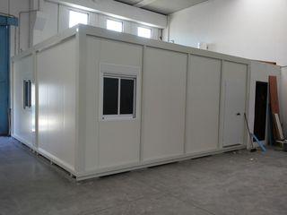 Constructii metalice modulare din profile zincate