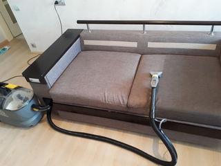 Curatare chimica mobila moale si mocheta la domiciliu, Химчистка мягкой мебели и ковролина, на дому