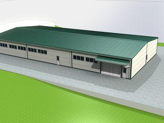 Proiectarea construcțiilor cu destinație industrială: hală de producere