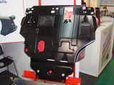 Защита картера «Шериф» надежно защитит двигательный отсек Вашего автомобиля.