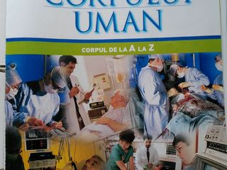90 numere - Interiorul corpului uman - enciclopedie medicala ; 800 lei