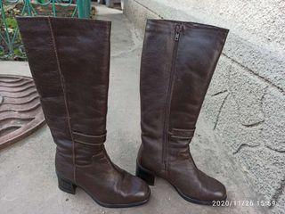 Cizme, pantofi din piele noi, încălțăminte din cauciuc, marimea 36-38.