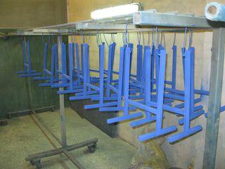 Металл. шкаф для бизнеса по полимерной покраске. Срочно из рук хозяина, ниже себестоимости.