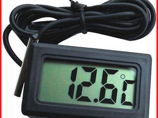 Термометры электронные. Выносной датчик. Для инкубаторов и измерения температуры земли на глубине