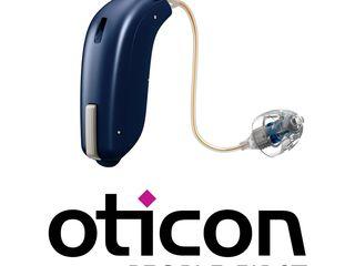 Слуховой аппарат фирмы Oticon.