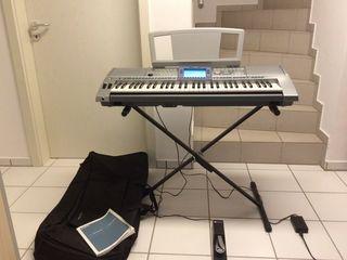 Синтезатор Yamaha PSR-1500. Sintetizator, clapa, orga.
