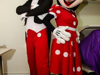 Mickey și Minnie Mouse la orice ceremonie!