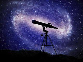 Звёздное небо Шехр-Аль-Джедида в телескоп!
