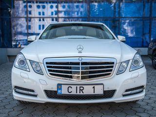 Cortegiu (кортеж) Mercedes-Benz albe/negre (белые/черные) - 15 €/ora (час) cu sofer/с водителем