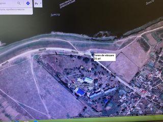 Vând teren pentru construcții pe malul Nistrului !