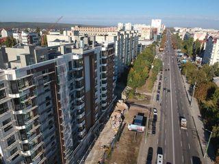 Astercon Grup - Buiucani, 2 camere, 65.16 m2 de la 760 €/m2, prețul 49522 € cu prima rată 7428 €