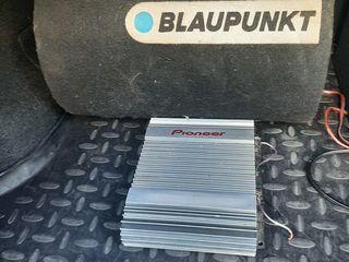 Буфер BLAUPUNCK +усилитель  Pioneer 2000 лей