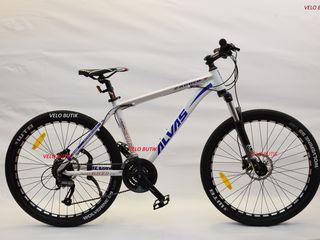 Alvas zagreb  26 bicicleta cu cadrul din alumin și frîna pe ulei. Livrare Gratuită !!!