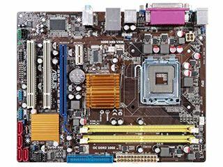 Gigabyte GA-945GCM-S2L//Asus P5G-MX