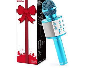 Беспроводной караоке микрофон Microfon Fara Fir Wireless Bluetooth 400 lei